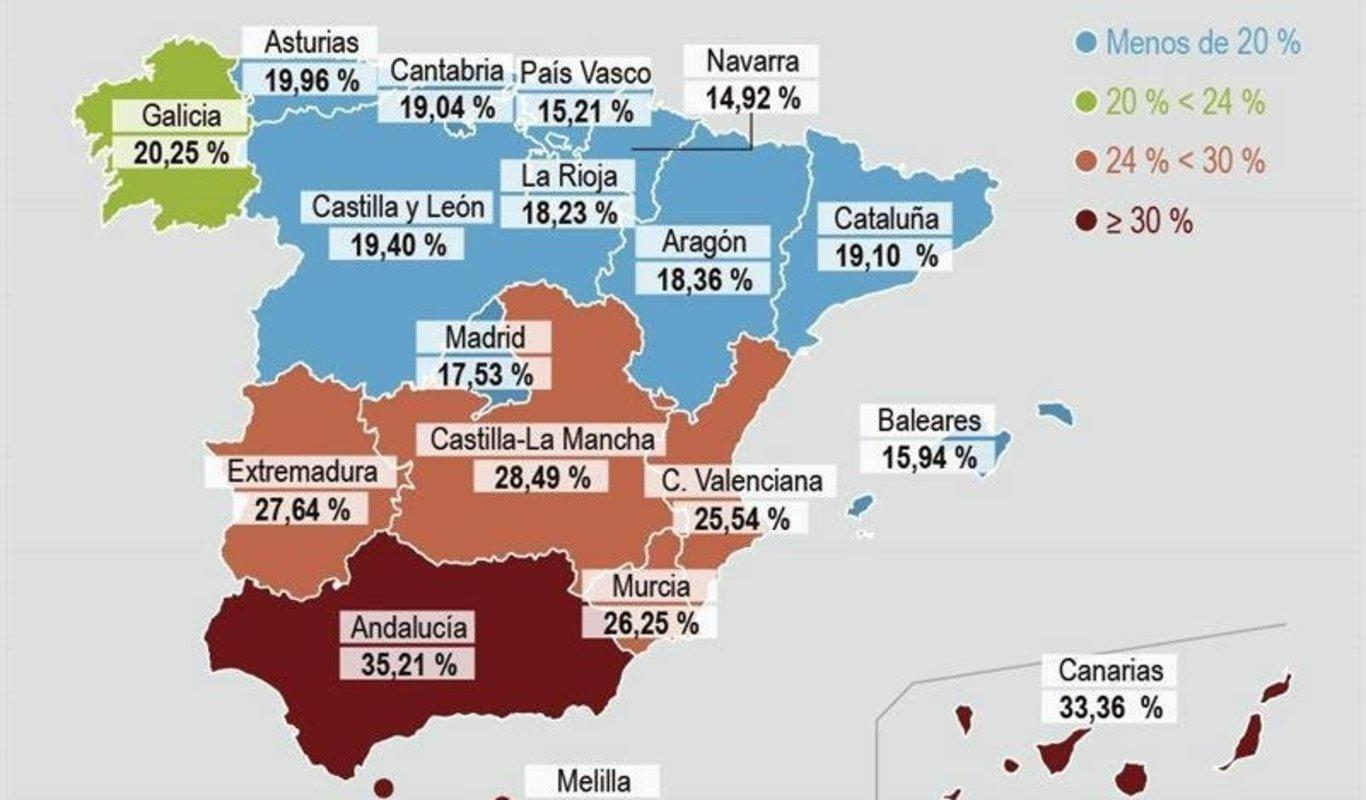 El Paro Se Reduce En Galicia En 26 100 Personas En El Tercer Trimestre