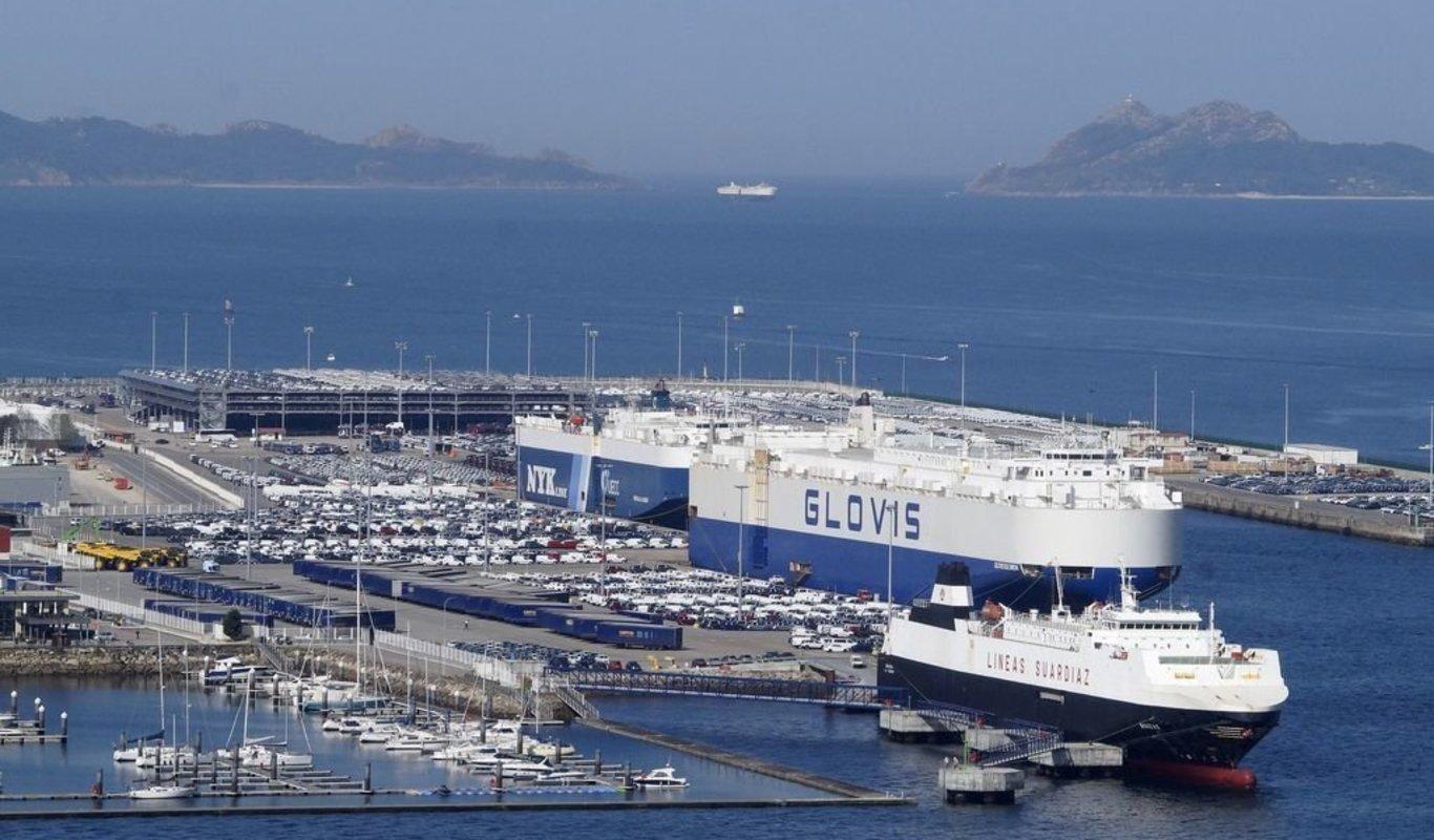 El ferry saldría desde la terminal de Bouzas.