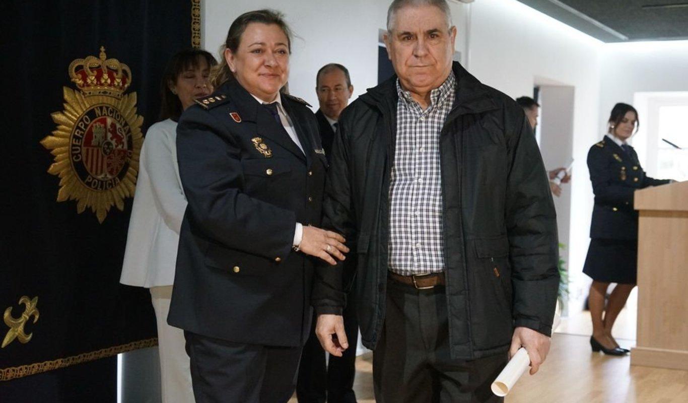 Luis Quintas, en el acto