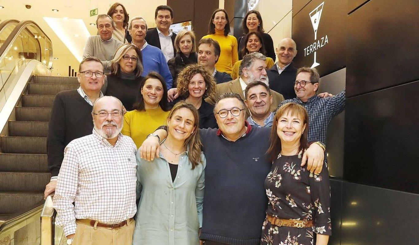 La Asociación de la Prensa de Vigo organizó un año más una comida de confraternización