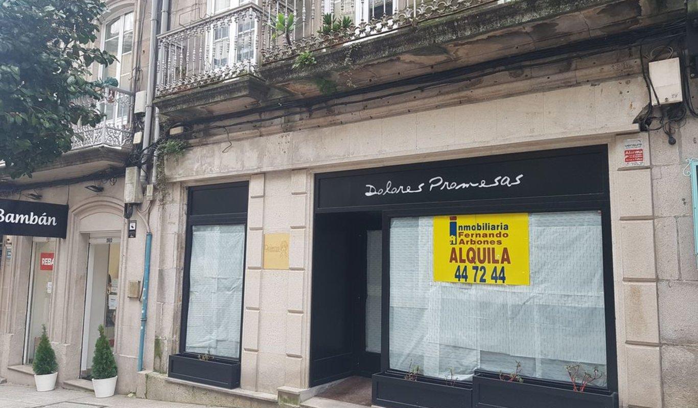La firma de moda Dolores Promesas acaba de echar el cierre en Vigo.