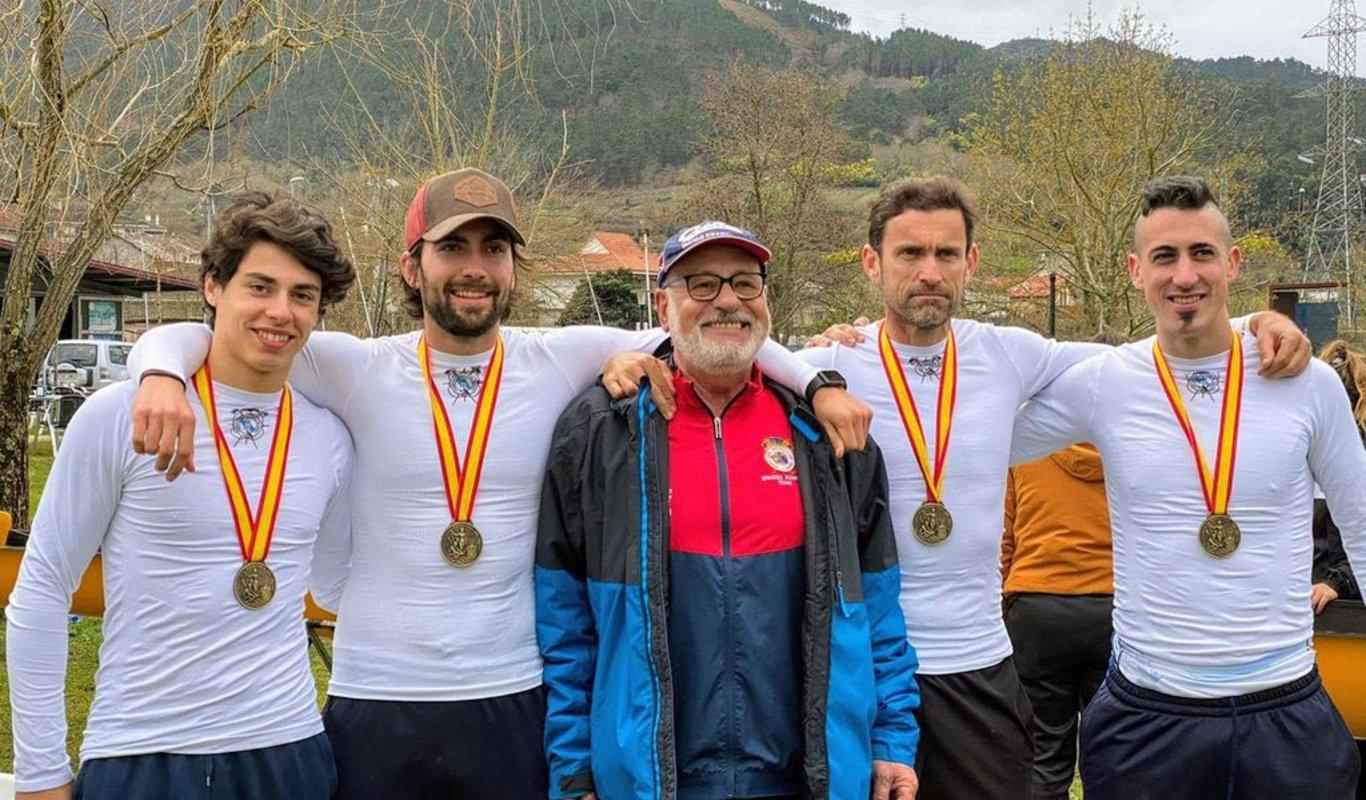 Horta, Rodrigo Conde, Jesús González y Escourido lograron el oro.
