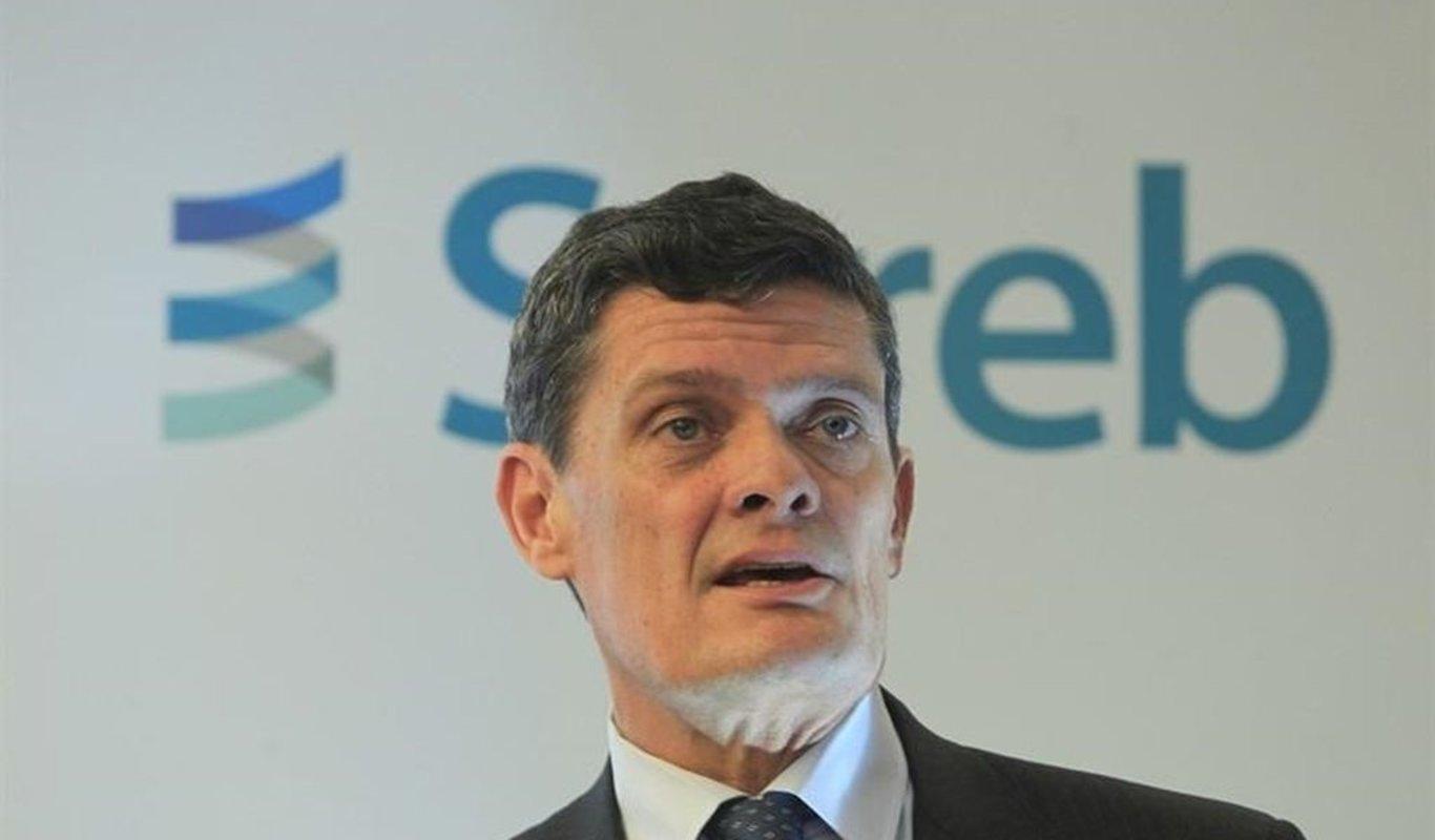 "Jaime Echegoyen, presidente del conocido como ""banco malo"", la Sareb."