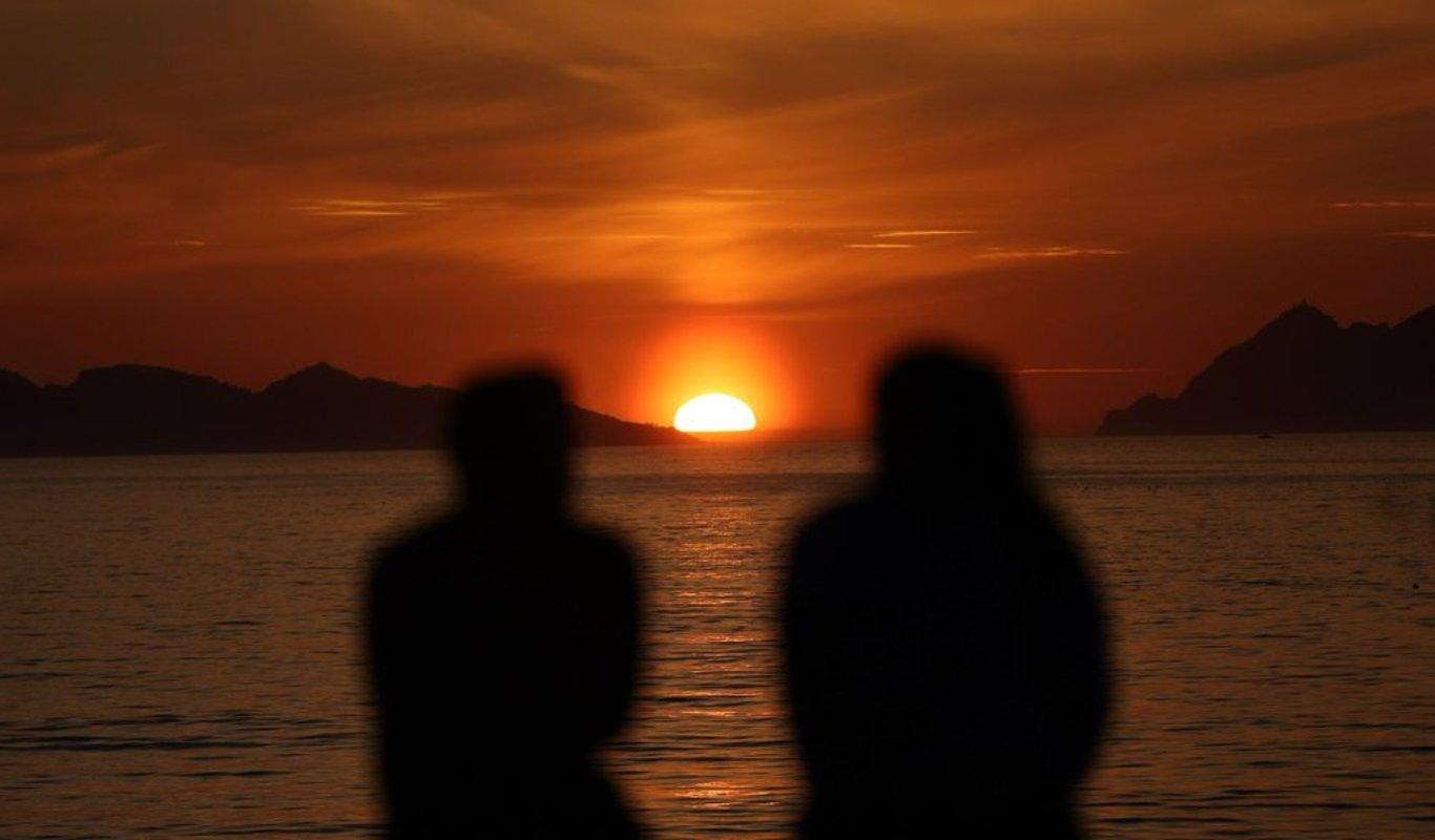 Gran puesta de sol en Vigo _ Alberte 5