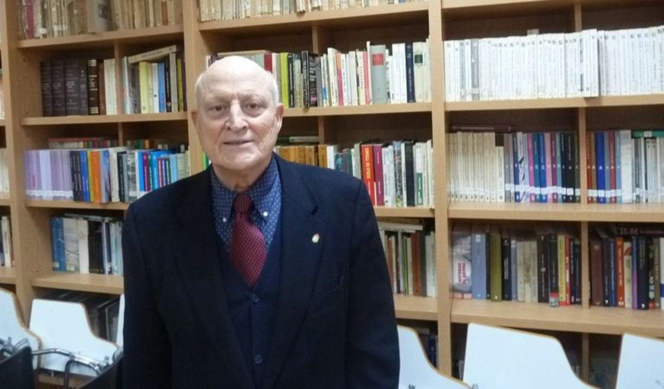 El presidente del Centro Gallego de Madrid, Fernando Rey Paz.