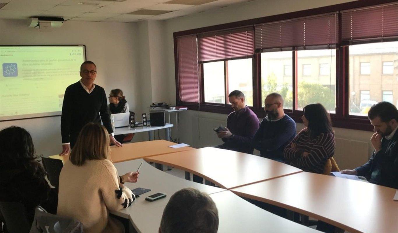 La jornada sobre prevención se celebró ayer en Porriño.