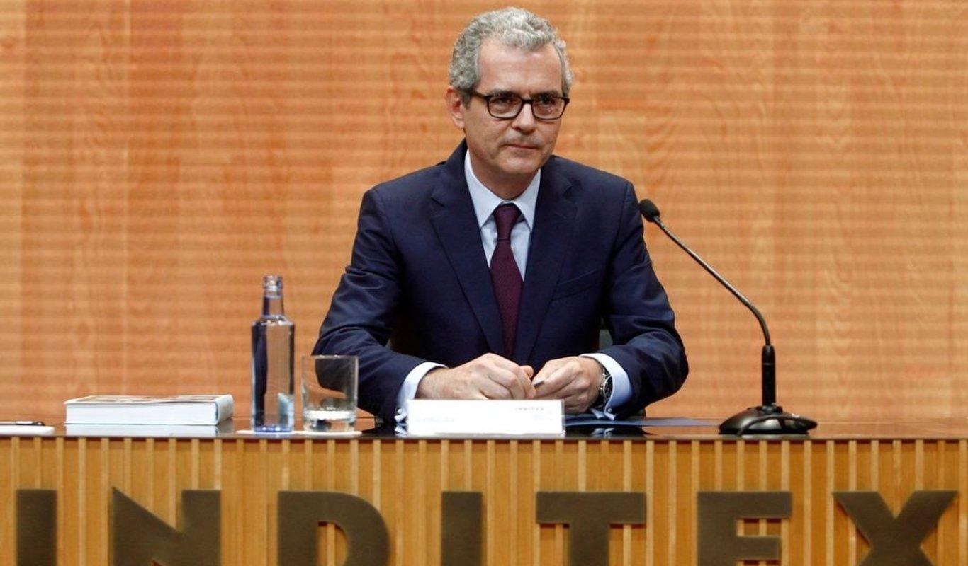 Isla, durante su intervención en la última junta de accionistas de la compañía.