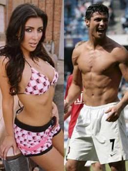 Cristiano Ronaldo Y Kim Kardashian Juntos En Madrid