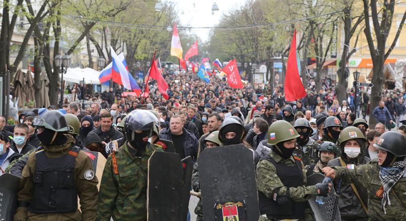 Prorrusos ucranianos proclaman la 'república de Odessa'