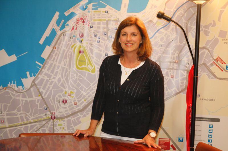 Gloria del Río es también vicepresidenta de Unicef en Galicia.