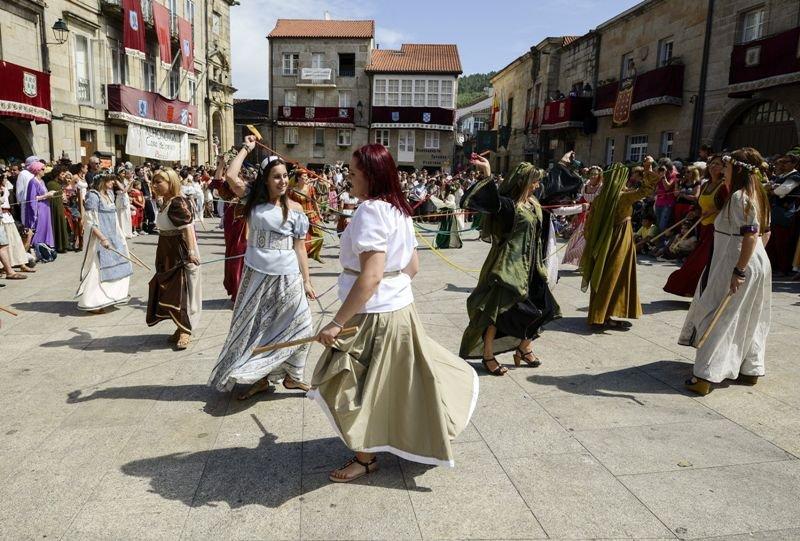 La Edad Media invade Ribadavia con torneos y una boda judía ...