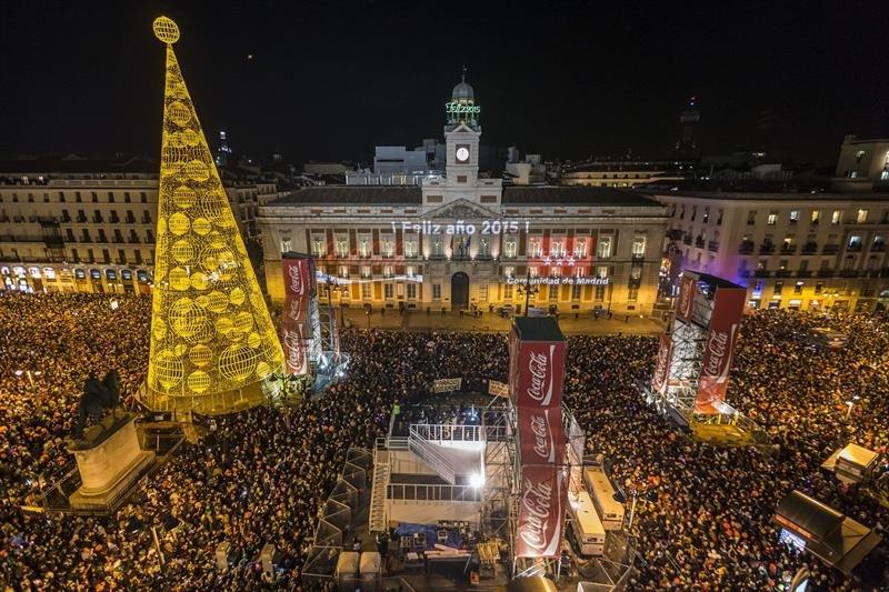 La comunidad de madrid registra 130 agresiones esta nochevieja y 136 incendios espa a - Puerta de madrid periodico ...