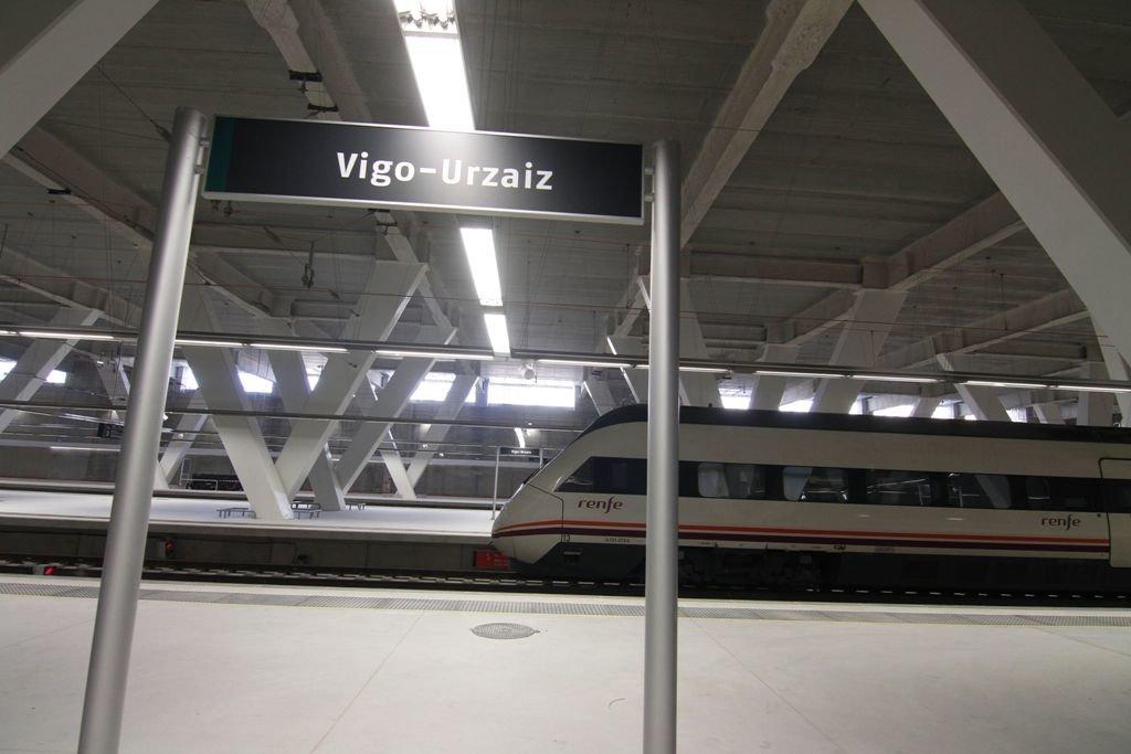 estacion tren vigo: