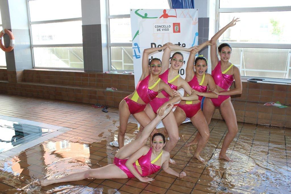 Fin de curso en las escuelas deportivas deporte local for Piscina del carmen vigo