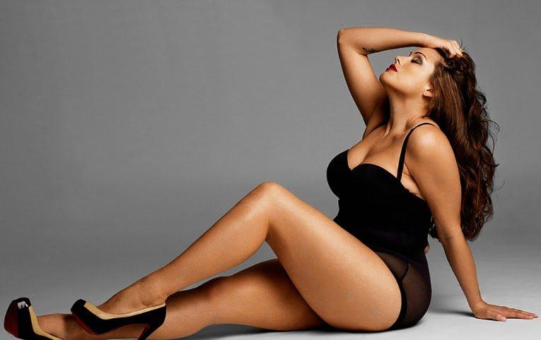 Worden alleen resultaten weergegeven voor model plu size curvy girls