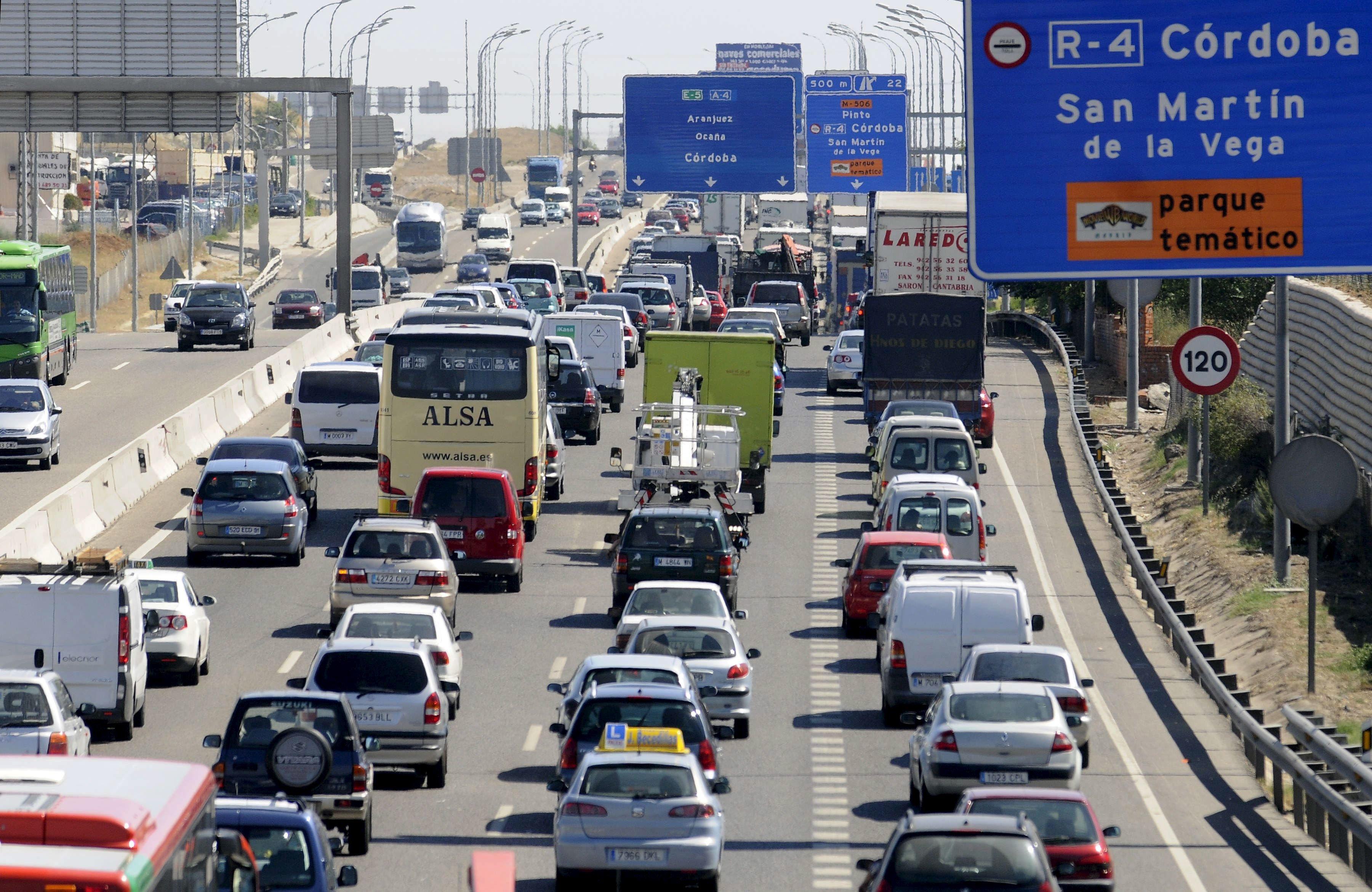 El falso protocolo de restricción de tráfico de Madrid desorienta a los conductores