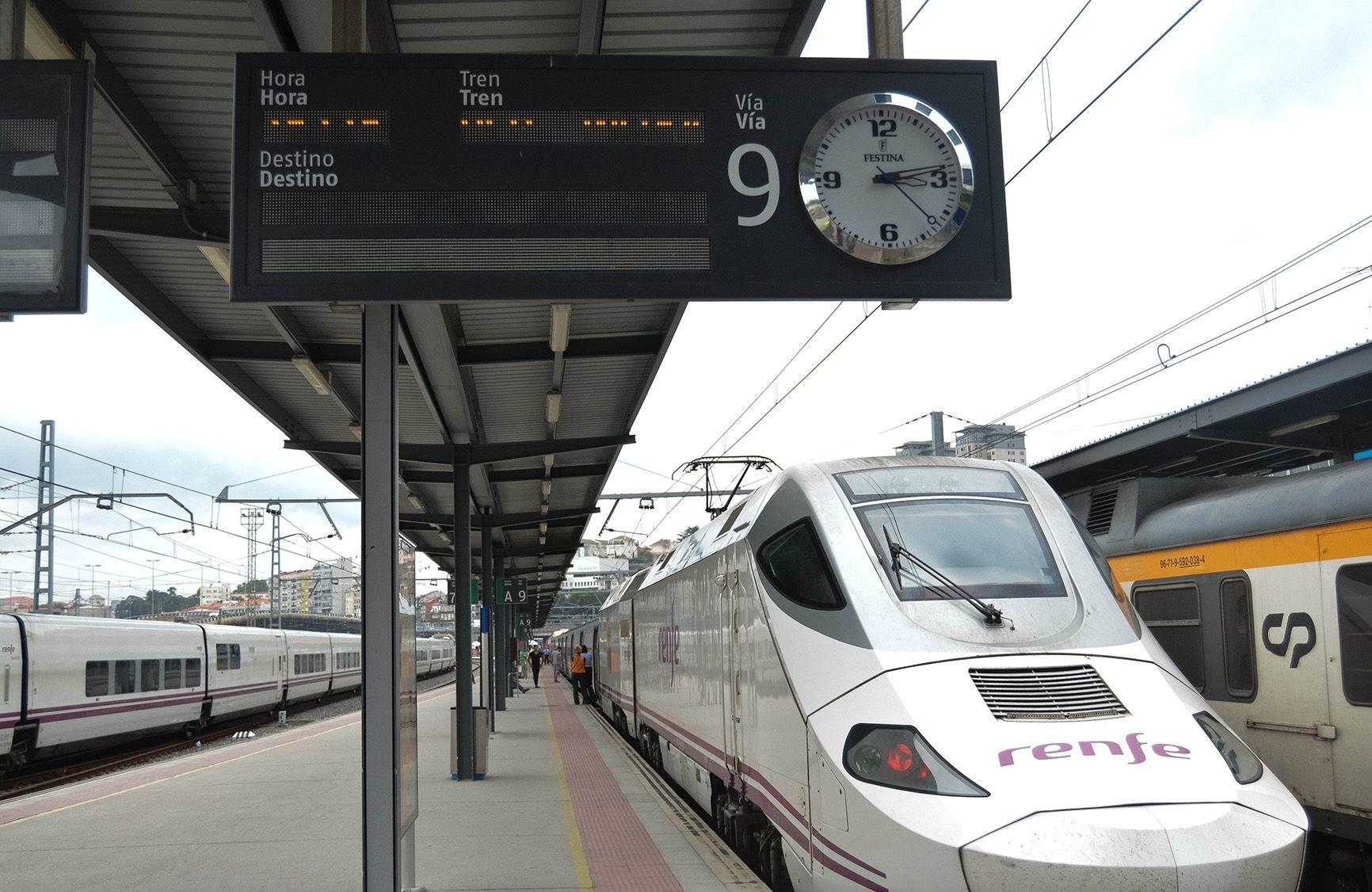 viajes en tren a madrid: