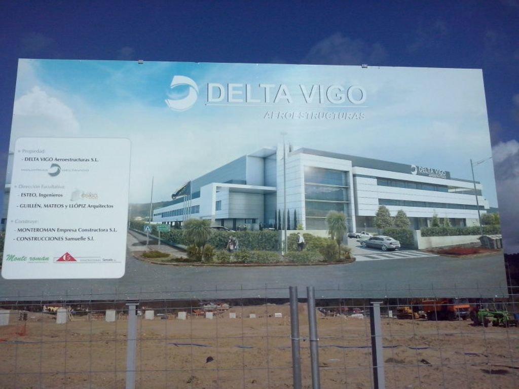 Las obras de delta vigo en nigr n est n paradas a for Empresas de construccion en vigo
