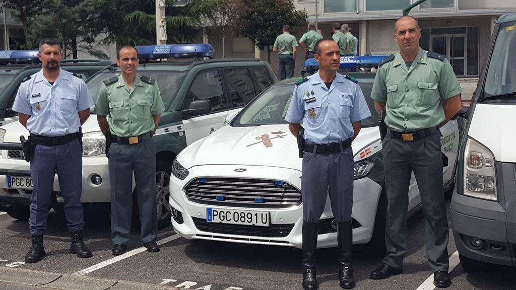 La gnr patrullar playas con turismo portugu s vigo for Oficina de turismo laguardia