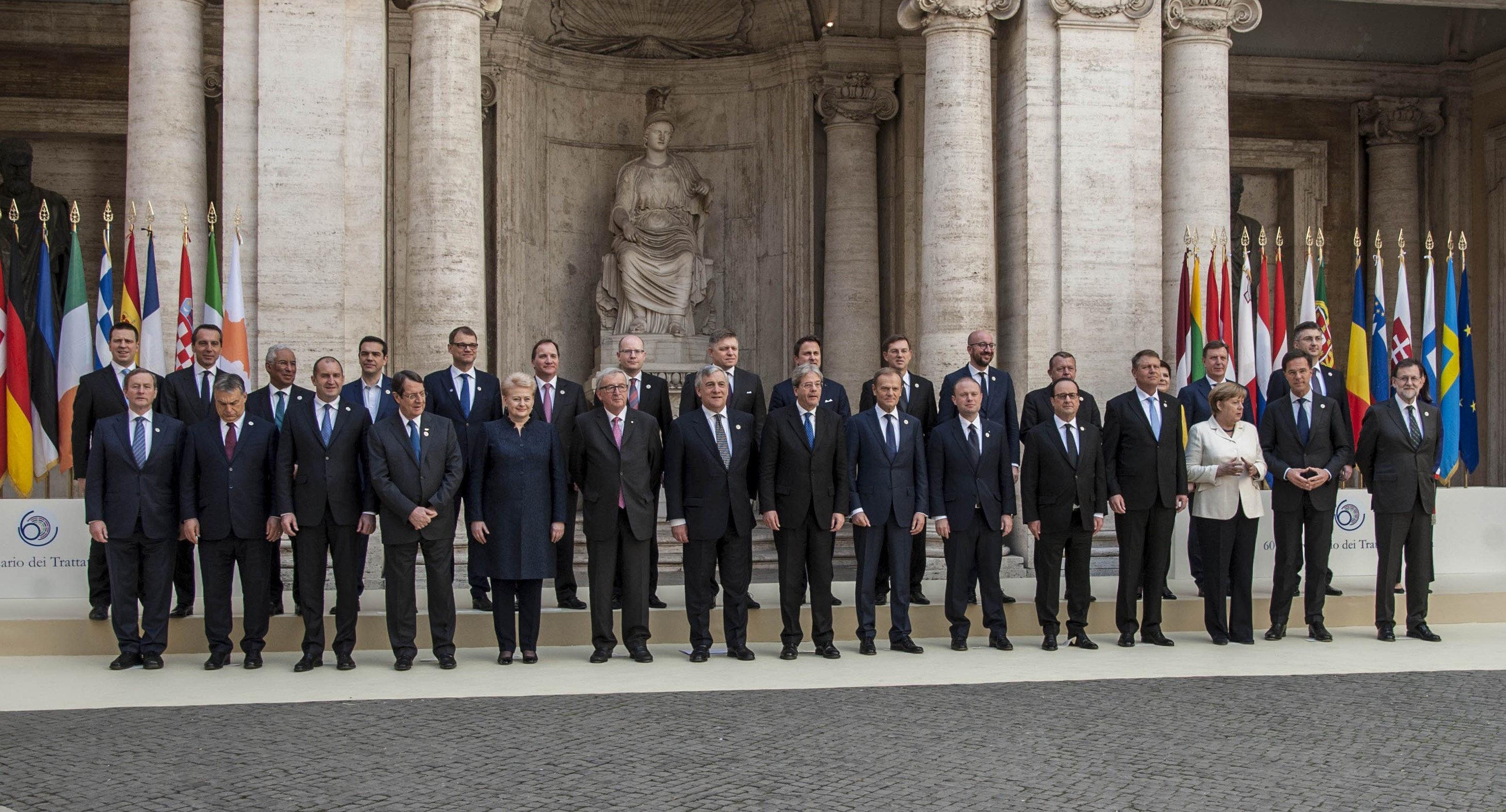 Resultat d'imatges de 60 aniversari de la Carta de Roma