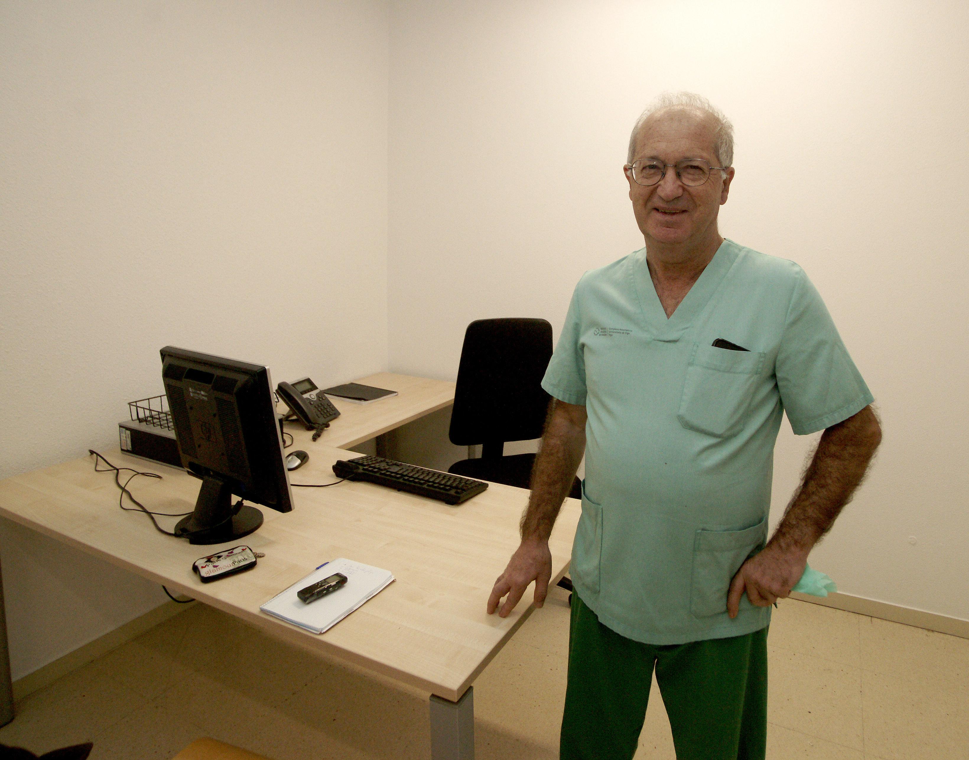 Antonio Ojea es el Jefe de Urología del Chuvi.