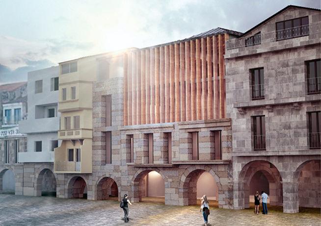 Una veintena de constructoras para el edificio de la for Empresas de construccion en vigo
