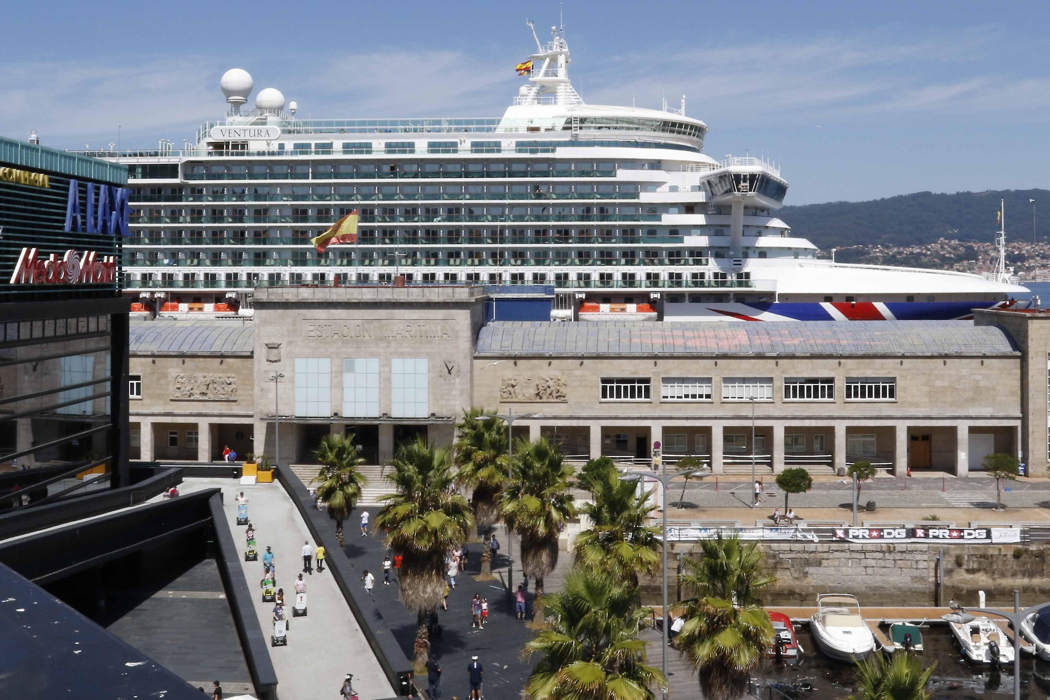 Siete cruceros y una escala inaugural este mes - Vigo - Atlántico Diario