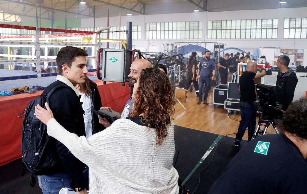 Lex gonz lez rod en un gimnasio de vigo escenas para una for Gimnasio 55 minutos