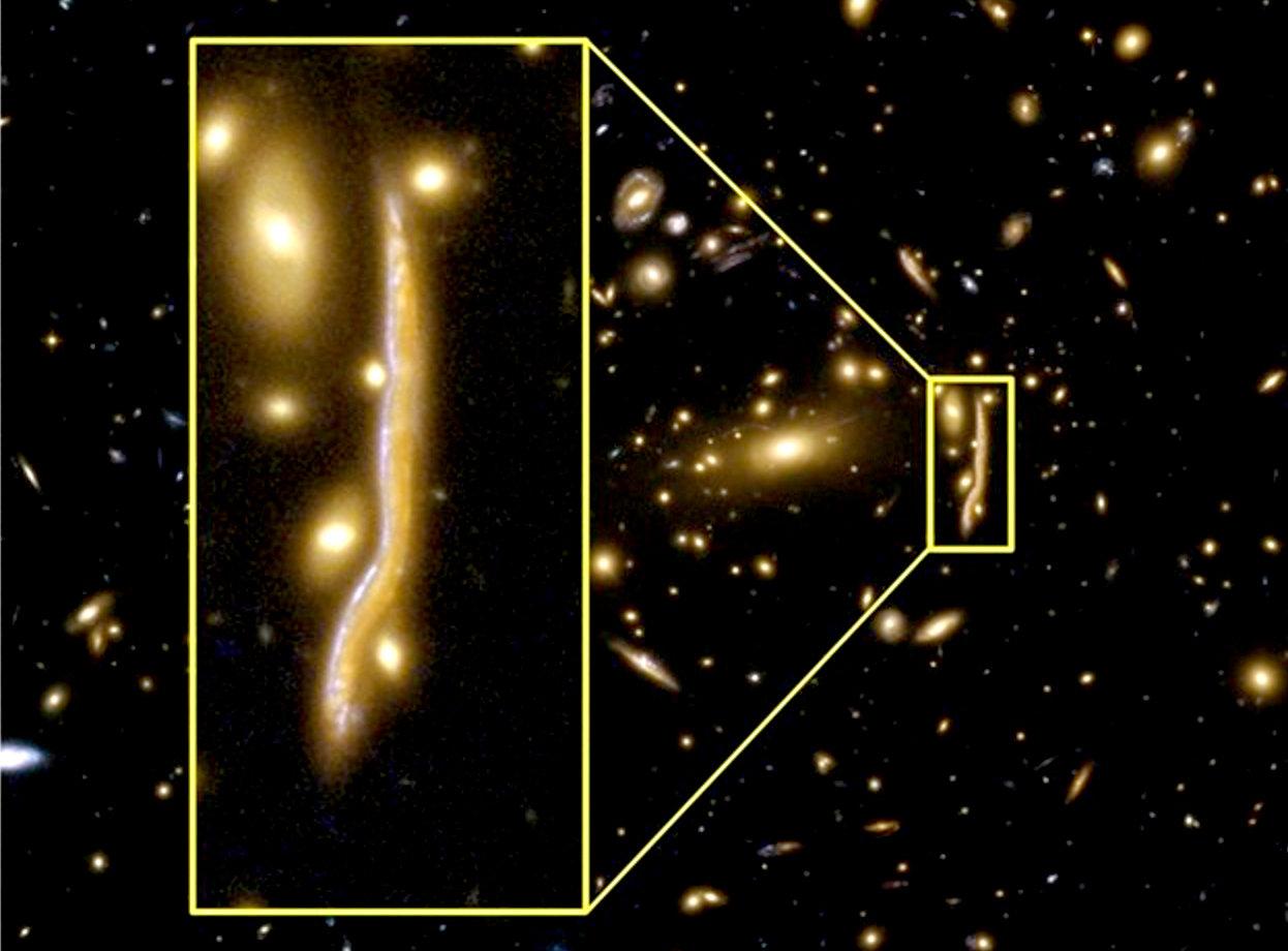 Resultado de imagen de La galaxia más antigua captada por el Hubble