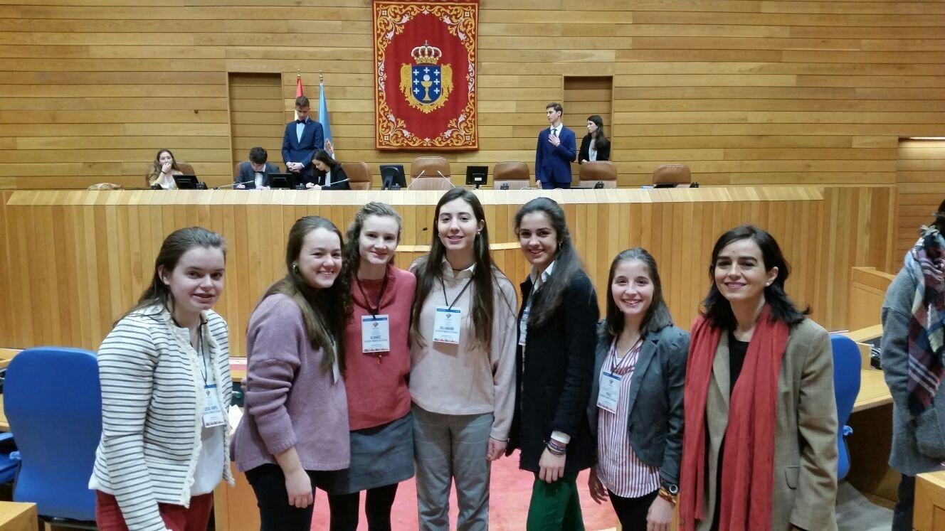 Las acacias gana el debate regional de la juventud europea - Colegio monterrey vigo ...