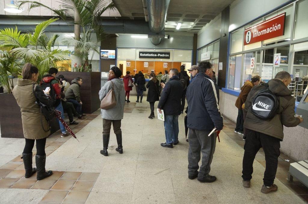 Vigo perdi un tercio de los latinos y atrae a europeos y for Oficina empleo vigo