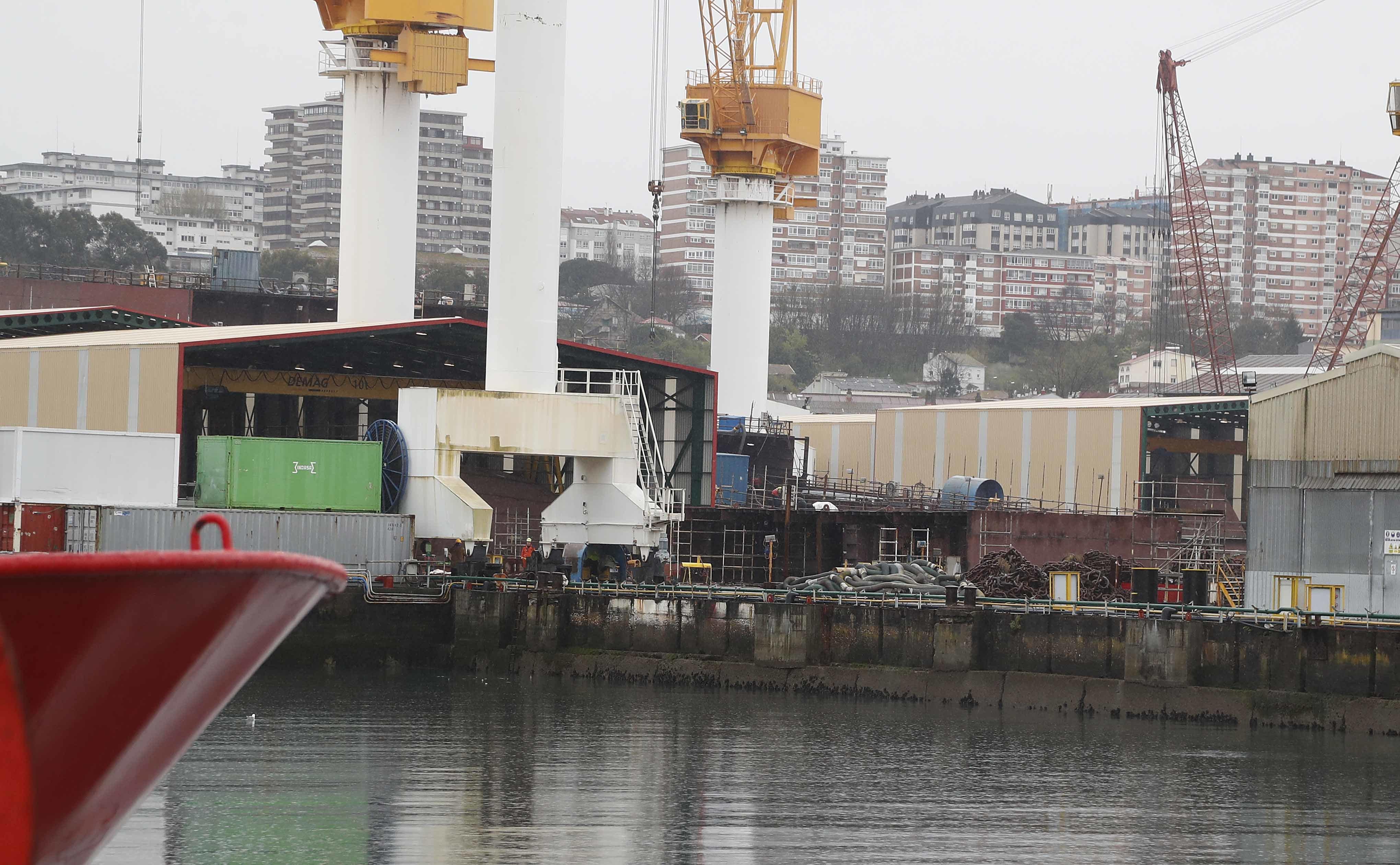 Bloqueada la construcci n de cuatro buques en vigo - Empresas de construccion en vigo ...
