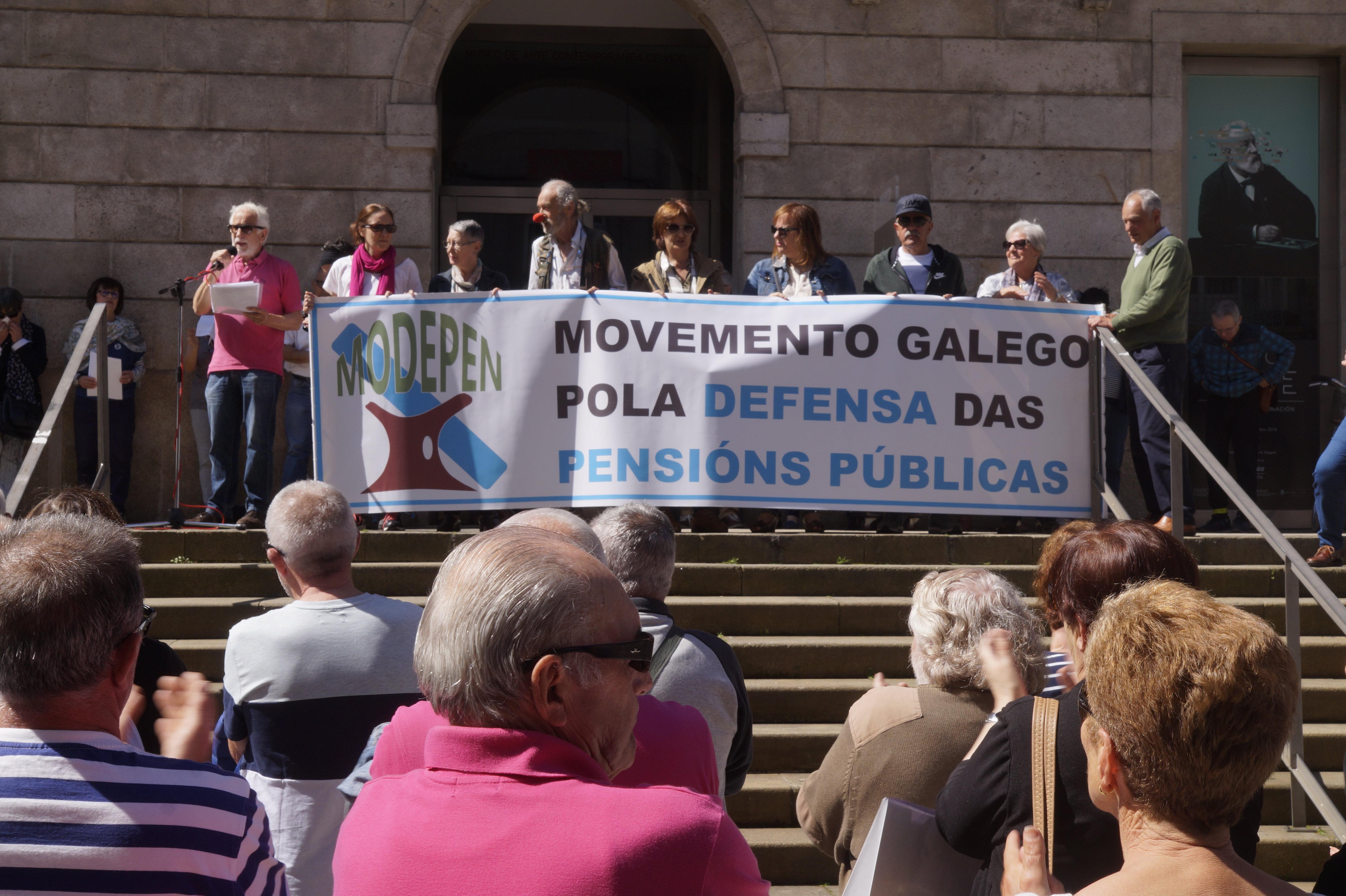Los pensionistas gallegos vuelven a las calles para alertar que la ...