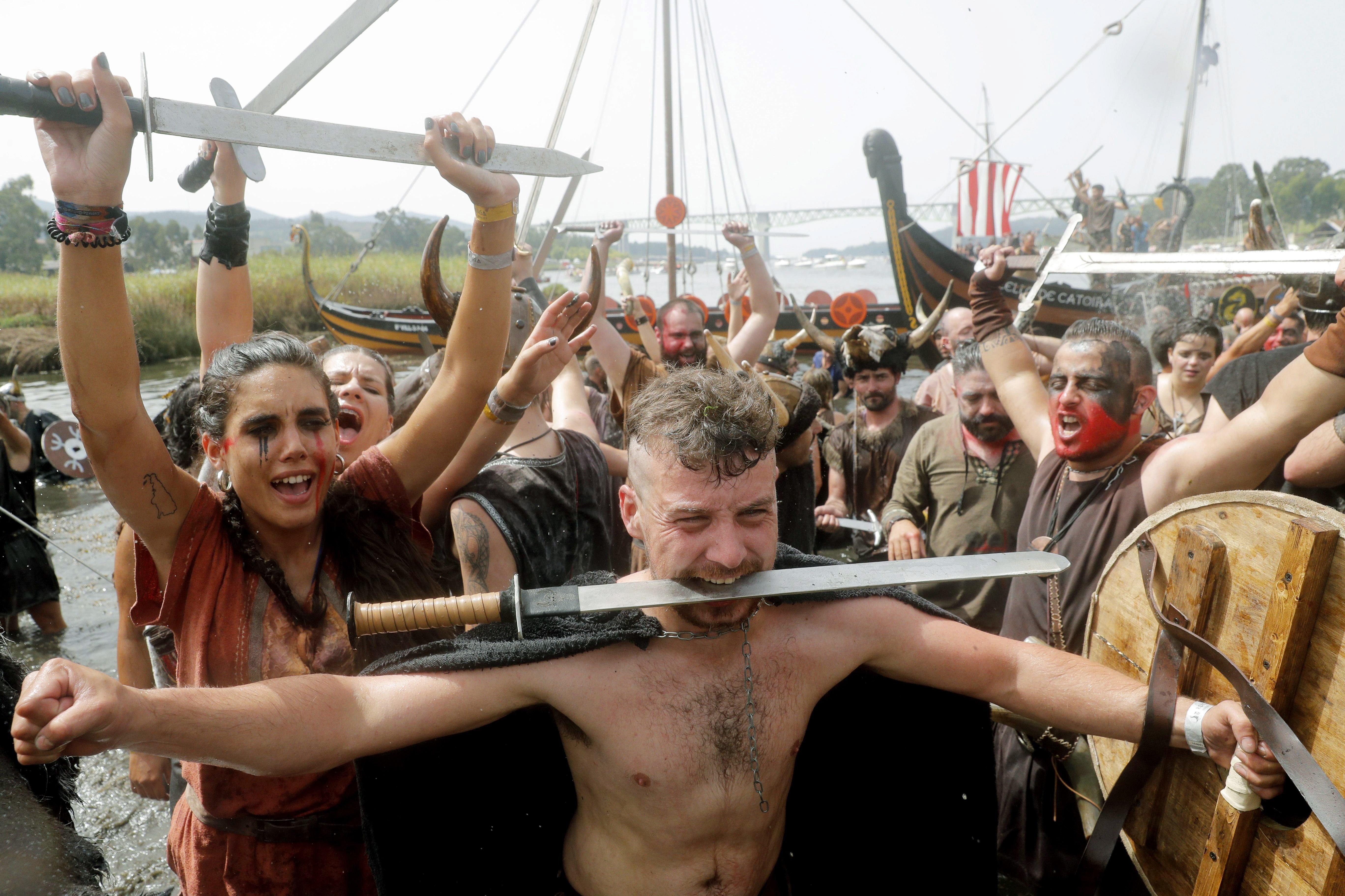 276fdcc9b Los vikingos volvieron a Catoira y a las Torres do Oeste - Vigo ...