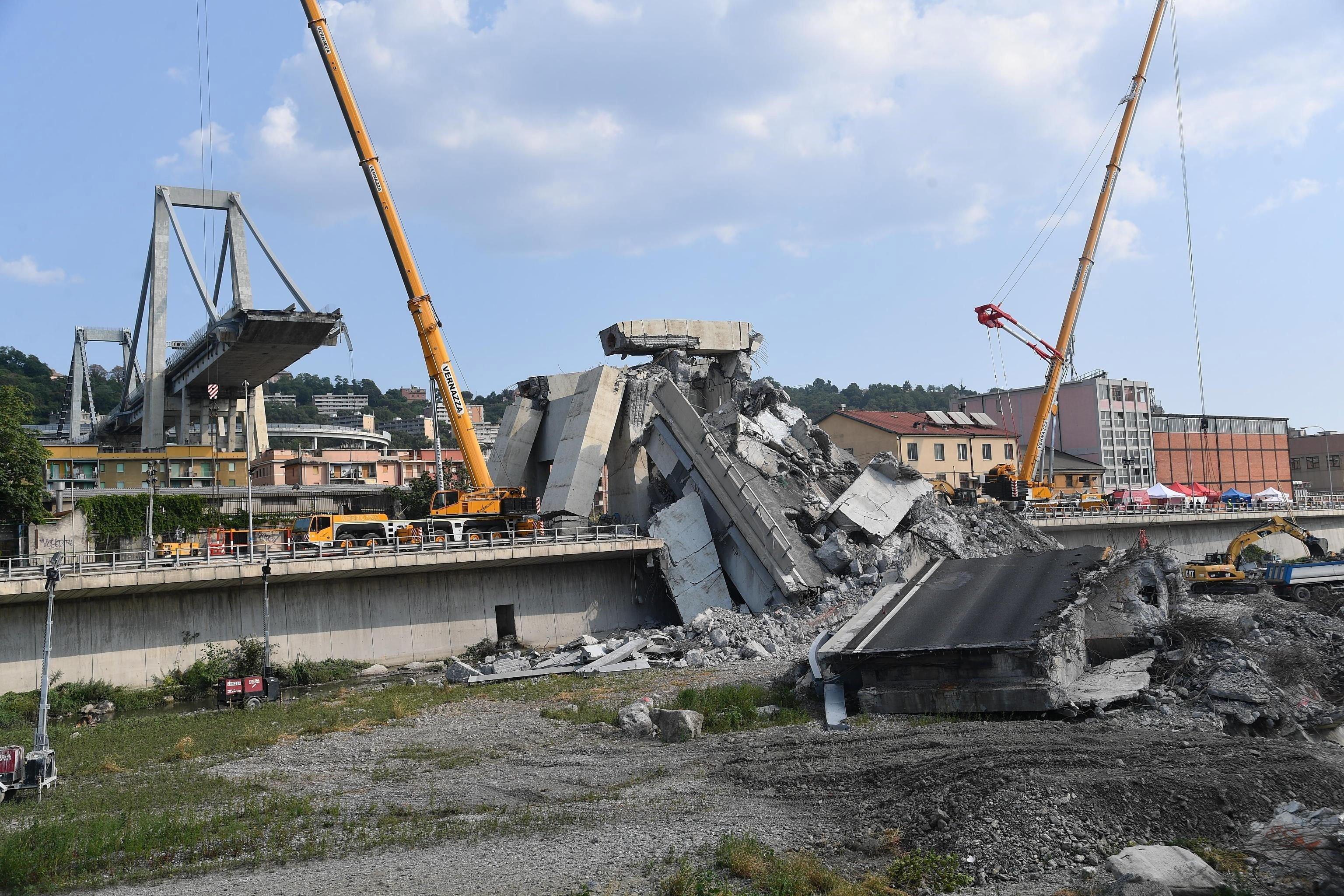 El diseñador del puente de Génova ya advirtió del riesgo - Mundo - Atlántico Diario