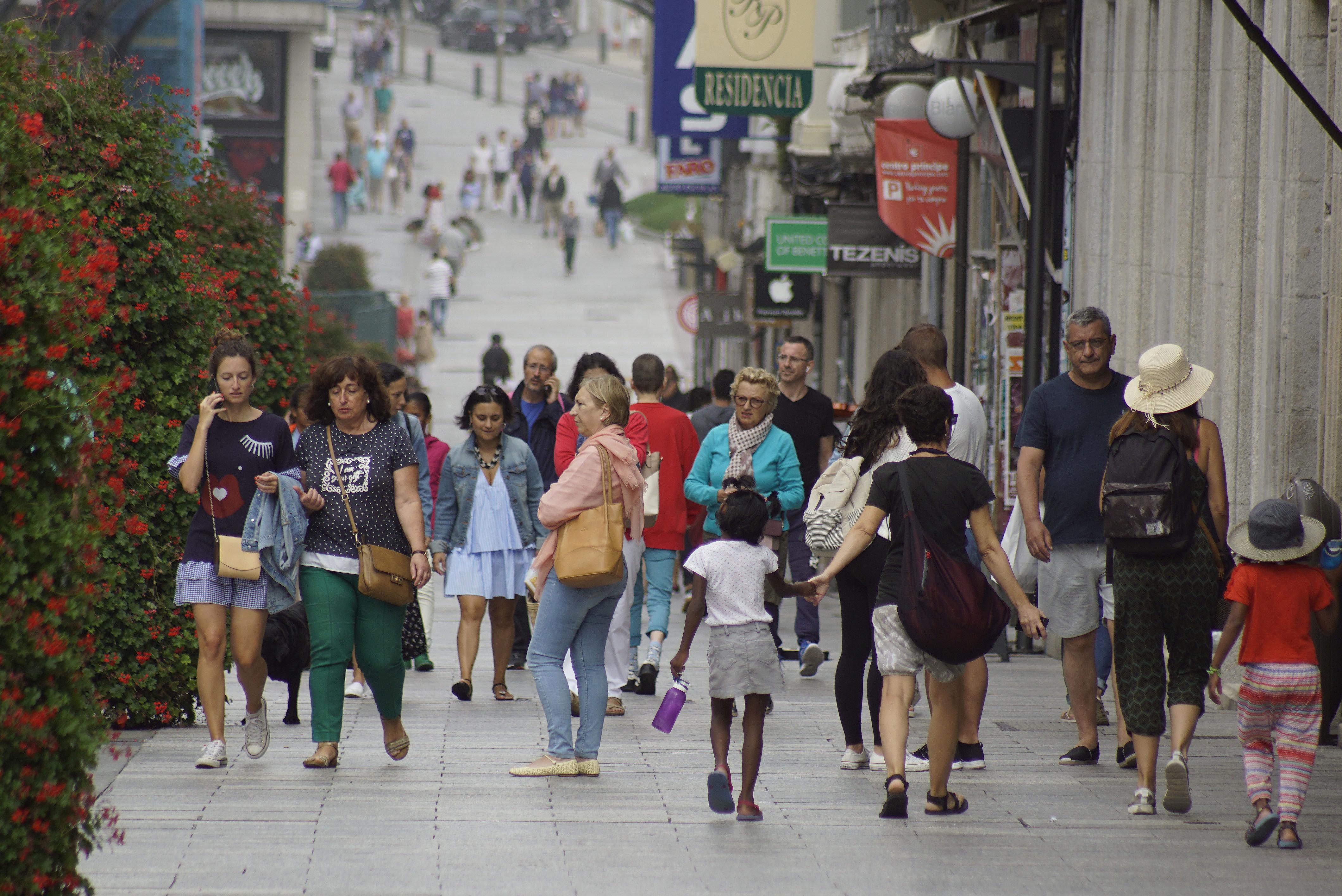 Cerca del 3,5% de la población gallega es extranjera, en Vigo hay más de 15.000 emigrantes.