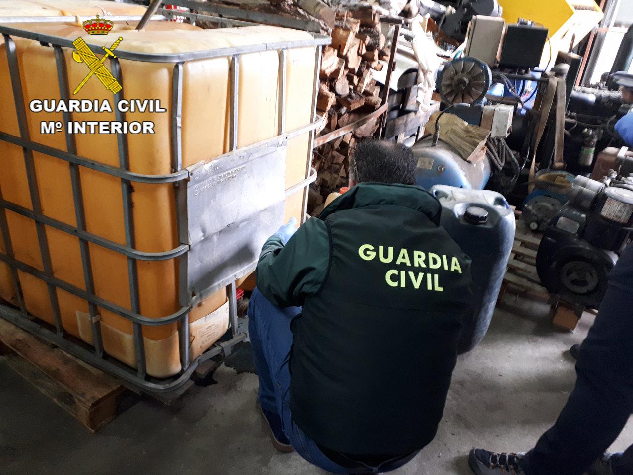 Desarticulan un grupo criminal dedicado al robo de gas leo for Empresas de construccion en vigo