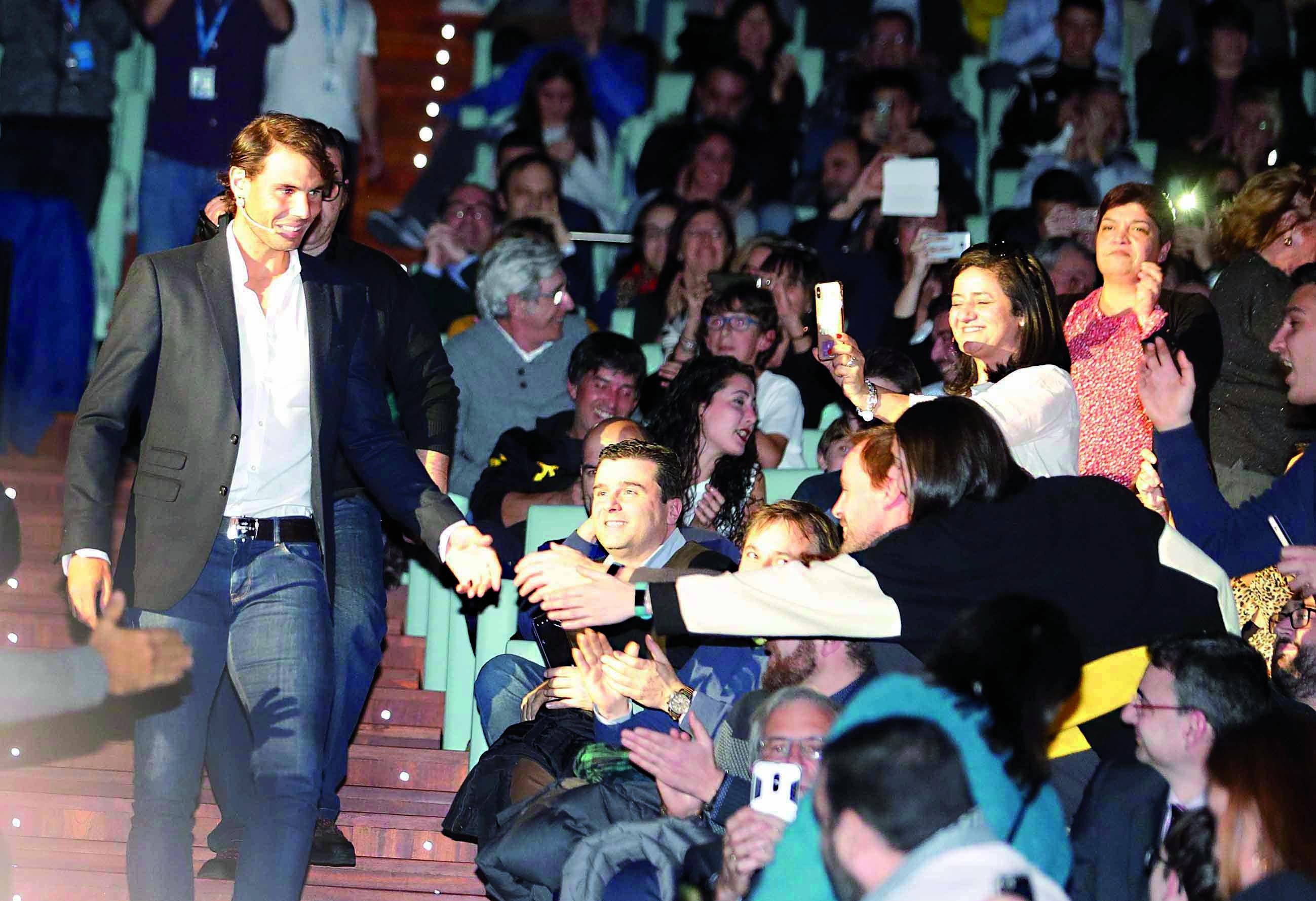 Rafa Nadal inaugurará centro de tenis en México