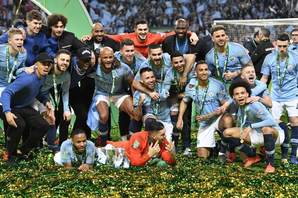 Cuarto título inglés de Guardiola - Deporte General - Atlántico Diario