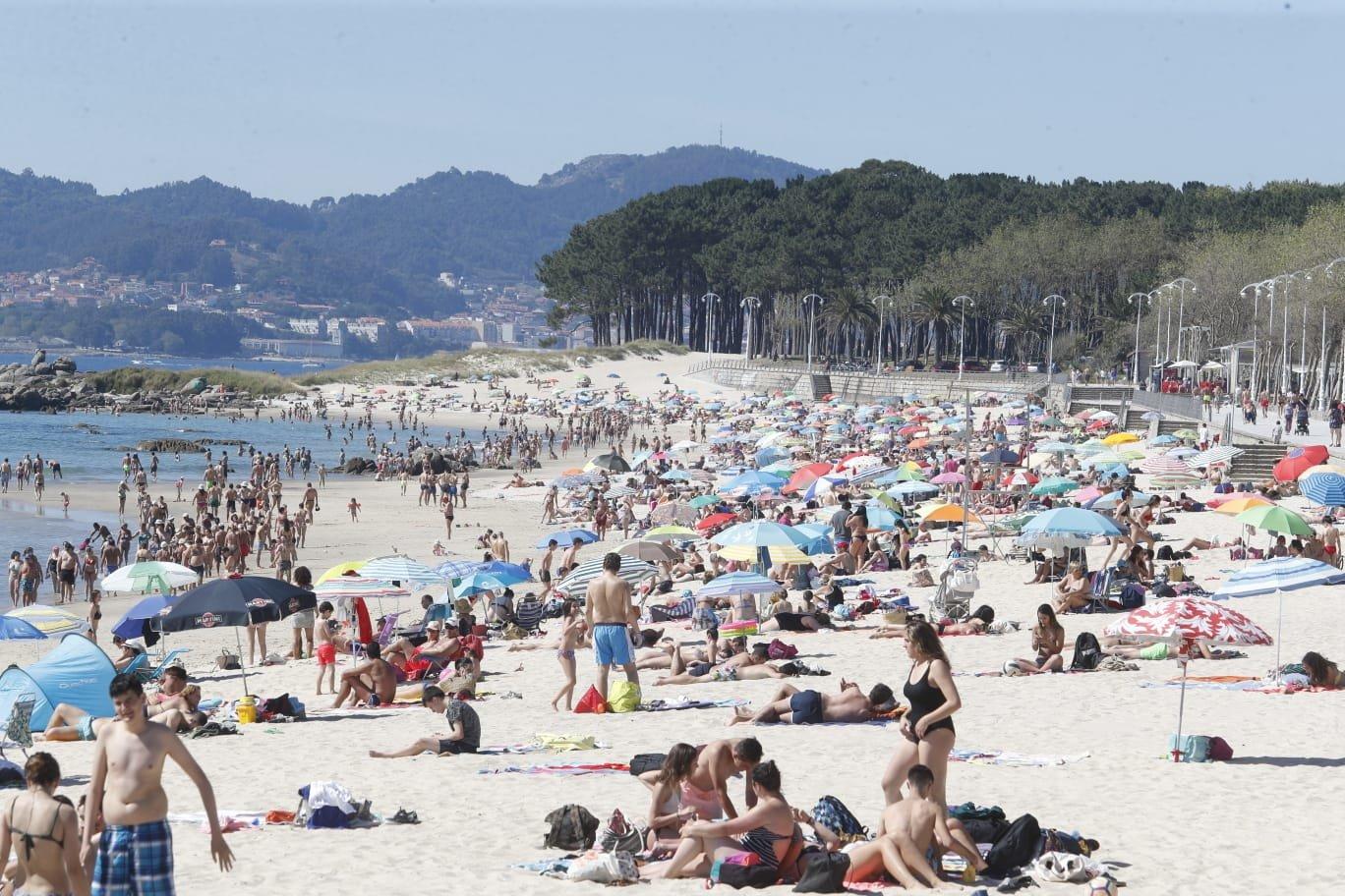 La playa de Samil