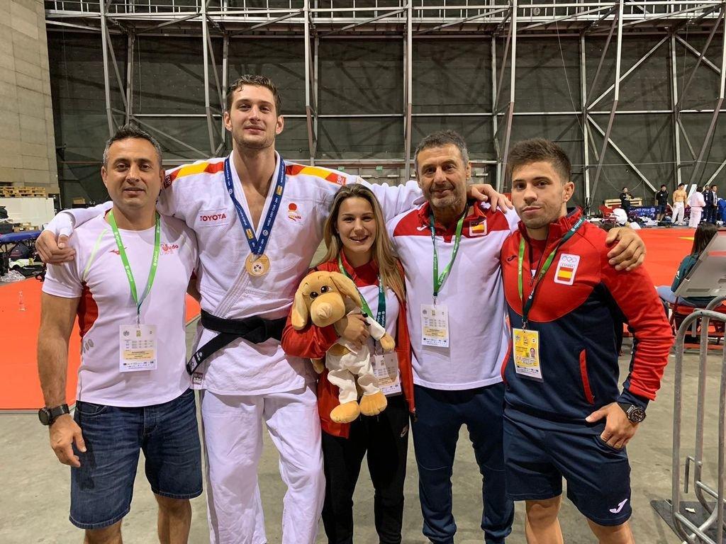 Bronce para Julia Figueroa en Budapest — Judo
